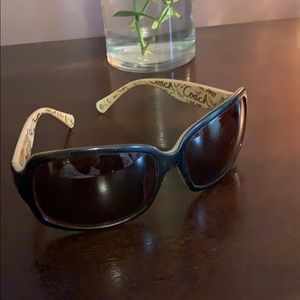 Coach ginger tortoise sunglasses